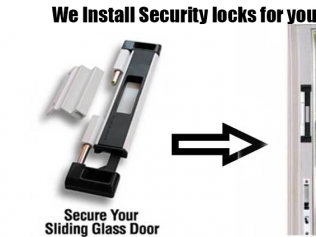 We Install Security Locks for Your Protection